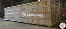 WOODEN CRATES FOR TRANSPORT AND PROTECTION OF GOODS: THE PERFECT PACKAGING